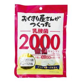大阪屋製菓 おくすり屋さんがつくった乳酸菌2000億個キャンディ 100g
