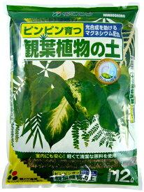 観葉植物の土 12Lx4袋セット 園芸 土 土壌改良 培養土 12l 園芸の土 送料無料:本州・四国・九州地区限定