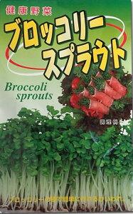 訳あり おススメ商品かいわれ・もやしスプラウト☆ブロッコリーの種 40ミリ袋 7個セット☆¥1750を¥1400国内一律:【送料無料】