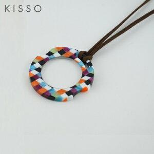 キッソオ ルーペ KOC-C30/マルチブロック メガネ素材のペンダントルーペ 鯖江 KISSO
