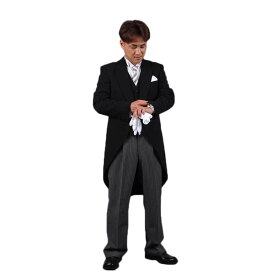 モーニング レンタル 【モーニングコート レンタル10点セット】【貸衣装】【結婚式・挙式・披露宴】【国産ウール生地&国内縫製】【メンズフォーマル】【礼服・礼装・婚礼用】【ウィングカラーシャツ】【父親 結婚式衣装】 05P03Dec16