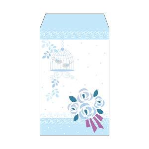 ブーケ(花束)/ポチ袋(中)5枚セット お年玉袋・ぽち袋・おしゃれでかわいい多目的祝儀袋
