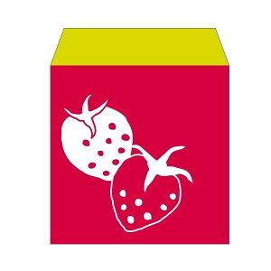 いちごちゃん(苺・イチゴ)/コイン用ポチ袋(小)5枚セット お年玉袋・ぽち袋・おしゃれでかわいい多目的祝儀袋