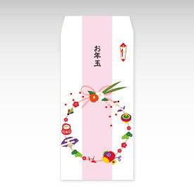 【2021年お年玉袋】正月飾り(大)/3枚【和紙製ポチ袋】