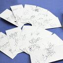 【鳥獣戯画】ポチ袋(大)和紙製正方形 12枚セット 桐箱入り『おしゃれでかわいいお年玉袋』お祝い 多目的