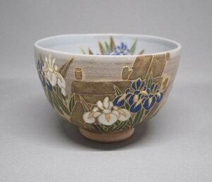 八つ橋絵茶碗