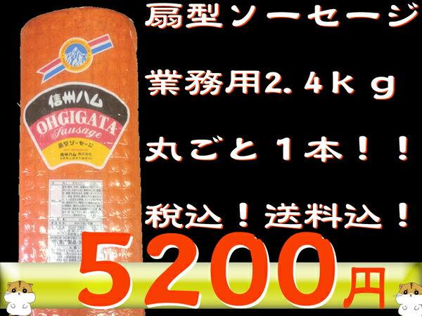 【京都なつかしの味】扇型ソーセージ 2.4kg/お得/業務用/ソーセージ