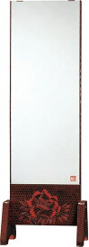 静岡県産幅54cm 一面鏡 姿見 全身ミラー 鎌倉彫 FK-158 国産品【送料無料】 【smtb-k】 【ky】 【家具】【京都−市やま家具】 【RCP】