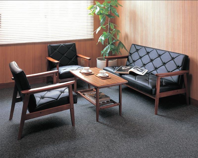 KARIMOKU〜カリモク〜合皮革張椅子4点セット【送料無料】【smtb-k】 【家具】【京都−市やま家具】 【RCP】