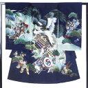 男児 熨斗目 レンタル お宮参り 着物 帽子 よだれかけ セット【男の子 貸衣装 和服 祝い着 初着 産着 往復送料無料】…