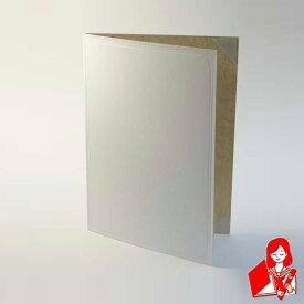 【A4用紙表紙】 2枚収納用 白色 証書ファイル 賞状ファイル 賞状ホルダー 結婚証明書入れ 【ケース フォルダー バインダー 賞状入れ】