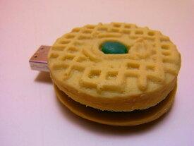 【日本のおみやげ】◆本物そっくりUSBメモリ【クッキー 抹茶サンド】食べ物シリーズ【開店セール1212】
