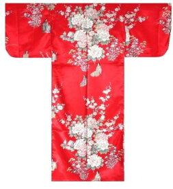 【日本のおみやげ】◆外国人向け着物【姫牡丹菊】子供用(35in〜40in)