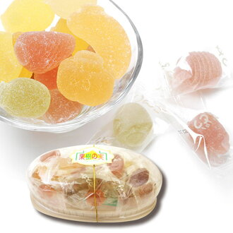 Fruit jelly assorted morning picking fruit garden dome-shaped package with outside the box 10P04oct13