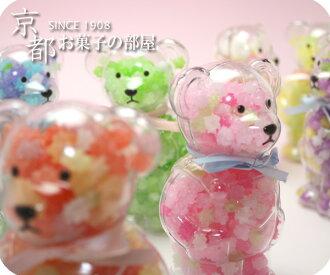 在微型礼物新娘礼物微型礼物快乐kumachan微型礼物(金平糖/kompeitou)