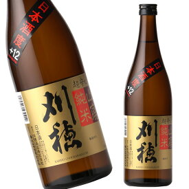 秋田 秋田清酒 刈穂 山廃純米 超辛口 720ml