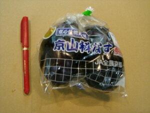 京都中央卸売市場!仲卸中西青果厳選京野菜山科茄子(やましななす)2個入1袋 山科なす