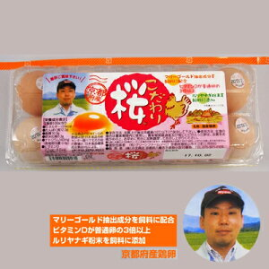 ●代引き不可 送料無料 こだわり桜 10個×12パック 卵 玉子 たまご タマゴ 41004