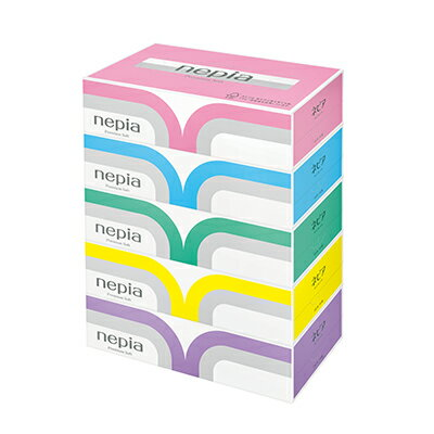 ☆送料無料 ネピア プレミアムソフトティッシュペーパー180組 5箱×12パック まとめ買い 00191