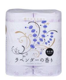 送料無料 四国特紙 ラベンダーの香り トイレットペーパー 4ロールダブル30m×12パック まとめ買い 00202