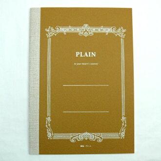 燕笔记本PLAIN笔记本(奶油报纸)A5大小32张素色