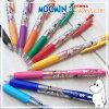 姆明 x 斑马 コラボモデル 彩色球笔颜色 (10 种颜色) sarasa 剪辑 × 0.4 毫米