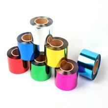 メッキテープ【カラー:桃】【テープ】【50mm幅×200m】ポンポンの製作に。50mm幅でボリュームアップ。パーティー会場などの飾りつけ、コンサートやライブに!!