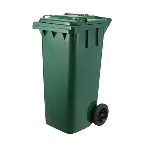 ダルトン プラスチック トラッシュカン 120リットル グリーン ゴミ箱 ダストボックス ふた付 キャスター付 おしゃれ シンプル キッチン 【 DULTON PLASTIC TRASH CAN 120L GREEN PT120GN 】