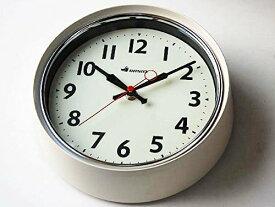 ダルトン ウォールクロック アイボリー 壁掛け時計 サークル 丸型 円形 壁掛時計 時計 掛け時計 シンプル おしゃれ 【 DULTON WALL CLOCK IVORY S426-207IV 】