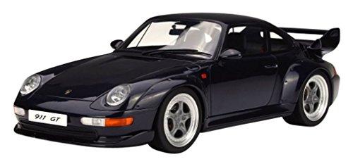 【GT SPIRIT】1/18 ポルシェ 911(993)GT(ダークブルー)/GTS750/4548565341467【京商ダイキャスト】