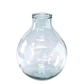 【スパイス】VALENCIA リサイクルガラスフラワーベース TRES クリア/VGGN1030