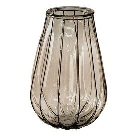 【スパイス】VALENCIA リサイクルガラスフラワーベース VEINTITRES ブラウン/VGGN1230BR/4548815051405
