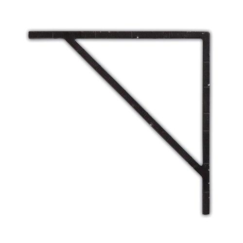 【2セット販売】 インテリア アイアンブラケット ブラック 62791psh / 4512706627918