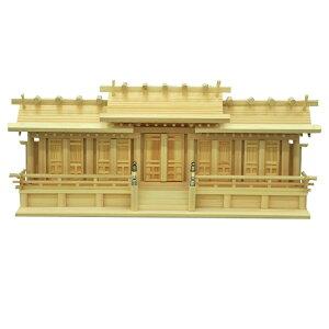 日本製 国産 神棚 お神札が簡単に入る神棚 屋根違い五社 小 高瀬 唐戸 低床 /家内安全に。大願成就に。合格祈願に。必勝祈願。お引越しに。心機一転に。4932528778634 エイ・アイ・エス AIS