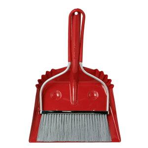 ダルトン スマイリーセット レッド ほうき&ちりとりセット ほうき 箒 ちりとり 塵取 おしゃれ かわいい 掃除 【 DULTON SMILLY SET RED 100-140RD 】