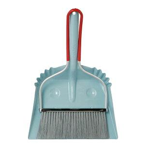 ダルトン スマイリーセット サックス ほうき&ちりとりセット ほうき 箒 ちりとり 塵取 おしゃれ かわいい 掃除 【 DULTON SMILLY SET SAX 100-140SB 】