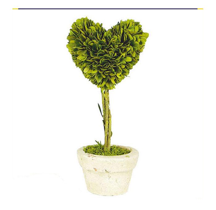 ダルトン トピアリー ハート L 観葉植物 インテリアグリーン トピアリー 植物 かわいい インテリア おしゃれ ツゲ科 【 DULTON TOPIARY HEART L CH07-G296L 】