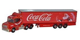 DOX1/148 スカニアTキャブボックストレーラー コカコーラ Xmas / OXNTCAB07CC / 京商ダイキャスト 4548565366293