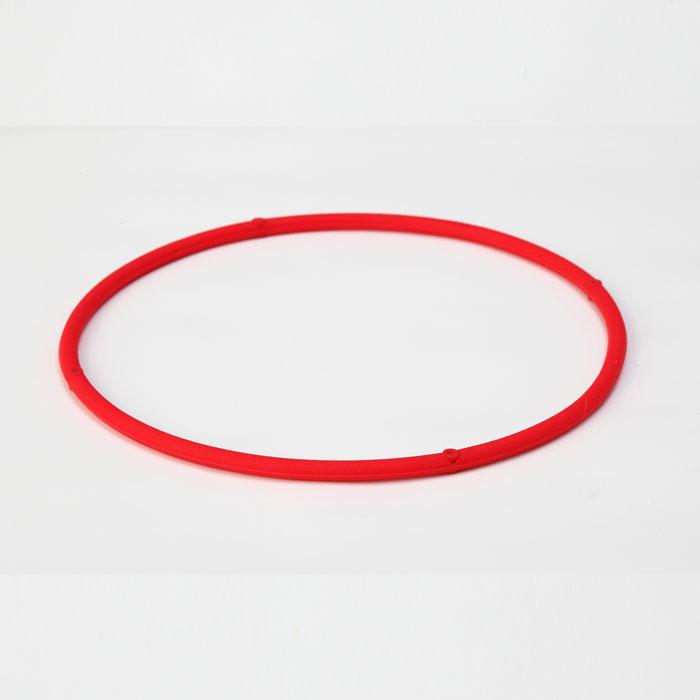 ファイテン ネックレス 【 RAKUWA磁気チタンネックレスS レッド 45cm 0214TG605152 】 phiten
