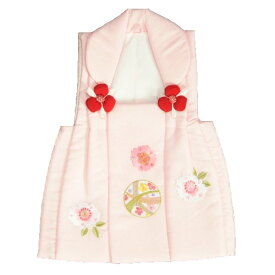 七五三 被布 着物 3歳 京都花ひめ ピンク まり桜刺繍使い 七五三 ひな祭り お正月