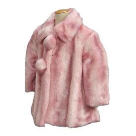 アウトレット ファーコート キッズタイプ 3歳、5歳、7歳用 ピンク