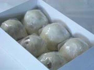 あんこが主役 薄皮まんじゅう(白つぶあん6個)★北海道産雪平手亡豆100% 02P01Oct16