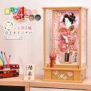 【選べる4種類】10号羽子板・京玉オリジナル(匠一好作)オルゴール付のコンパクトサイズ(ピンク・ひのき・けやき・…