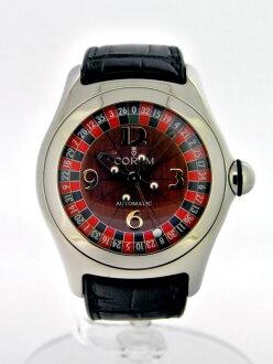 乔鲁姆泡沫赌场皇家 Ref.82.150.20 轮盘拨号自动缠绕 SS/皮革手表