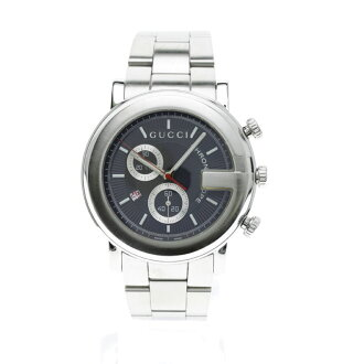 GUCCI101M chronograph watch SS men