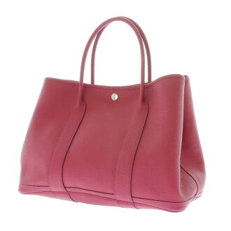 HERMES garden party PM Tote Tryon ladies fs3gm