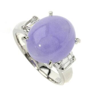 Lavender his I / diamond ring Platinum PT900 ladies