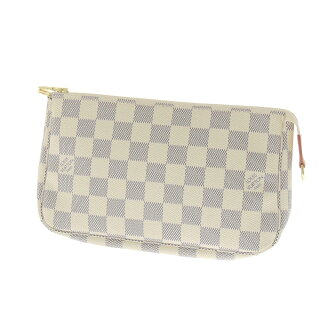 LOUIS VUITTON Accessoires or accessory pouch Damier Canvas Womens