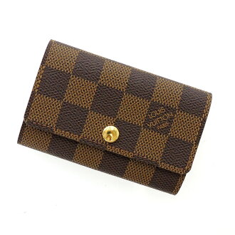 LOUIS VUITTON key holder 6 N 62630 key holder Damier Canvas unisex