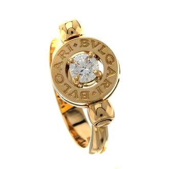 BVLGARI BVLGARI BVLGARI ring K18 pink gold Lady's fs3gm